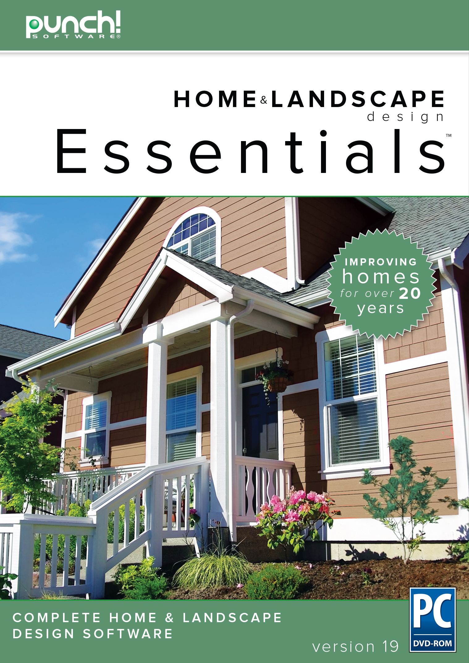 Punch home landscape design essentials v19 home - Best home and landscape design software ...