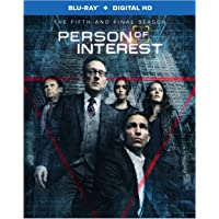 Person of Interest The Complete Fifth and Final Season on Blu-ray