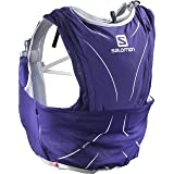 Salomon Advanced Skin Backpack (12 Set), Spectrum Blue, X-Large (Color: Spectrum Blue/White, Tamaño: X-Large)
