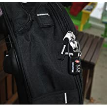 Master Lock 4688DBLK TSA Accepted Cable Luggage Lock, Black