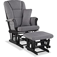 Stork Craft Tuscany Custom Glider and Ottoman with Free Lumbar Pillow