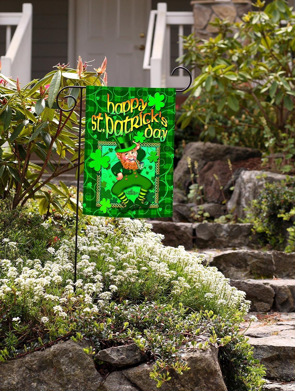 Toland Home Garden Happy Leprechaun Garden Flag 112128