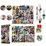 Boku No Hero Academia My Hero Academia Stickers Collectibles Looksee Box Gift Set MHA Stickers (Basic) (Color: basic)