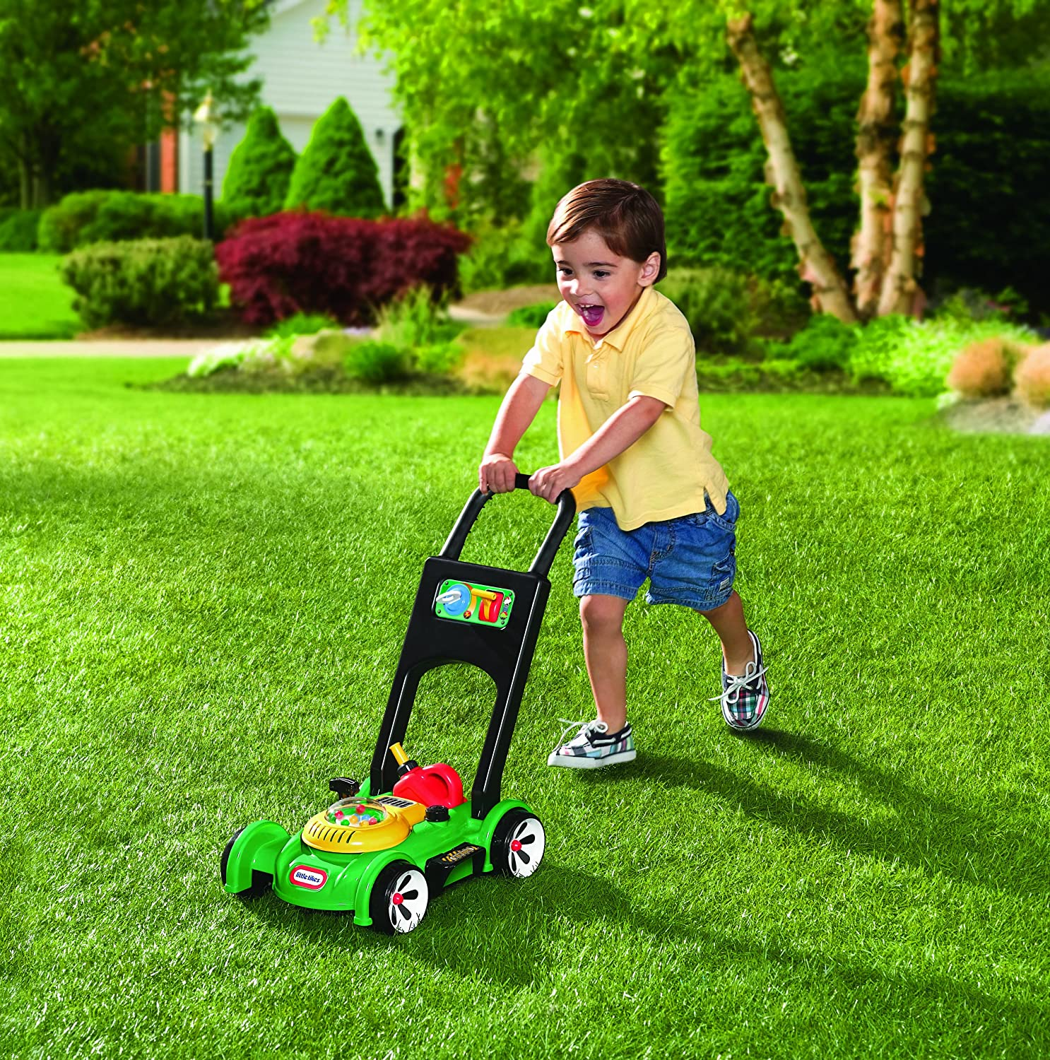 An Image of Little Tikes Gas 'n Go Mower