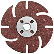 "Jooltool 3M Coolview Deign Abrasive Disc with Square Nut, 4.5"" Diameter, Grit 36"