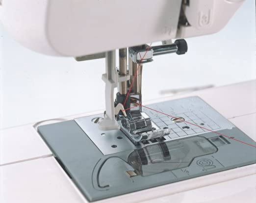 Amazon.com: Brother CS6000i Feature-Rich Sewing Machine With 60 Built-In Stitches, 7 styles of 1-Step Auto-Size Buttonholes, Quilting Table, and Hard Cover
