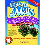 Soil Moist Mats For Hanging Baskets Planters and Containers 6pc Pack (Tamaño: 6pc Pack)