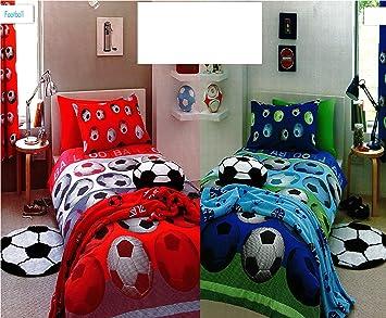 parure de lit lit enfant housse de couette 140x200 taie football cuisine maison z18. Black Bedroom Furniture Sets. Home Design Ideas