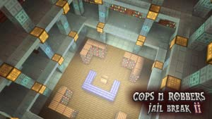 Cops N Robbers (Jail Break 2) - Mine Mini Game With Survival Multiplayer by Riovox