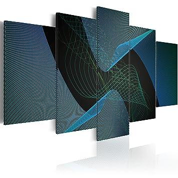 impression sur toile 200x100 cm cm grand format 5 parties image sur toile. Black Bedroom Furniture Sets. Home Design Ideas