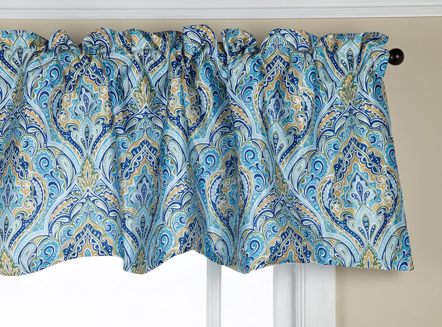 Stylemaster Zoe 56 By 17 Inch Paisley Lined Scalloped