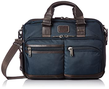 Alpha Bravo Andersen Slim Commuter Brief 222640: Navy