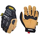 Mechanix Wear MP4X-75-010 - Material4X M-Pact Gloves (Large, Brown/Black) (Color: Black/Tan, Tamaño: Large)
