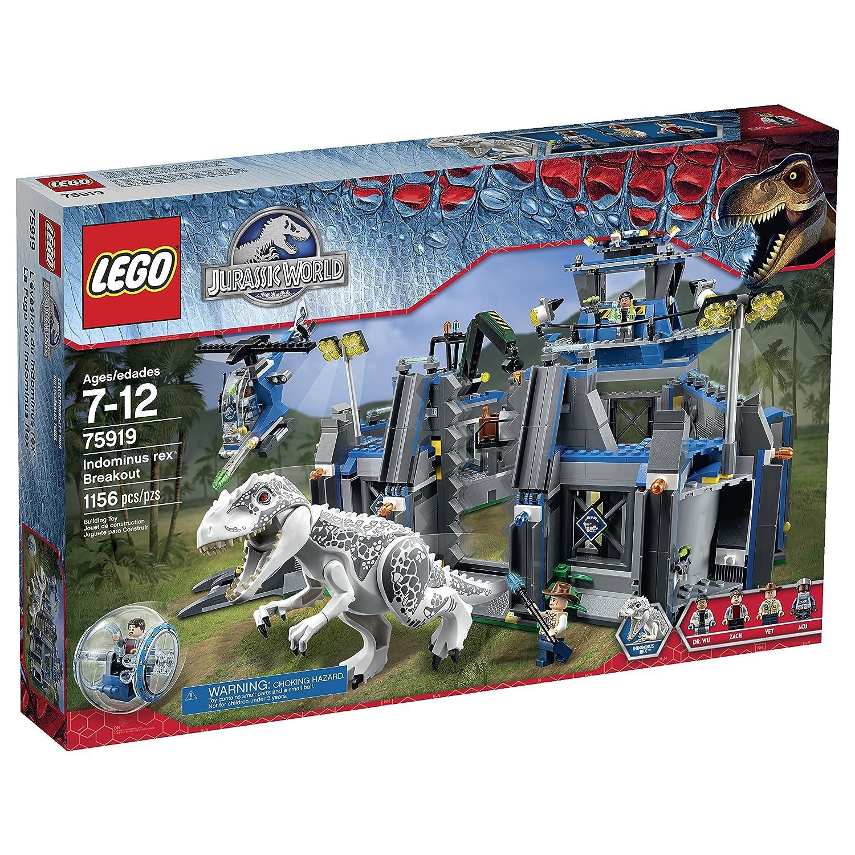 LEGO Jurassic Park Jurassic World Indominus Rex Breakout ...