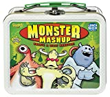 POOF-Slinky 0X4267 Ideal Monster Mashup Card Game with Mini Collectible Tin Lunch Box Storage Container, 54-Colorfully Illustrated Cards