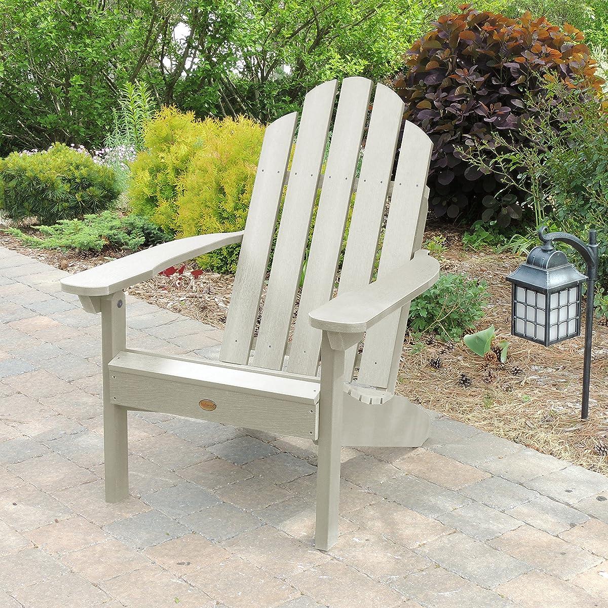 Highwood Classic Westport Adirondack Chair, Whitewash
