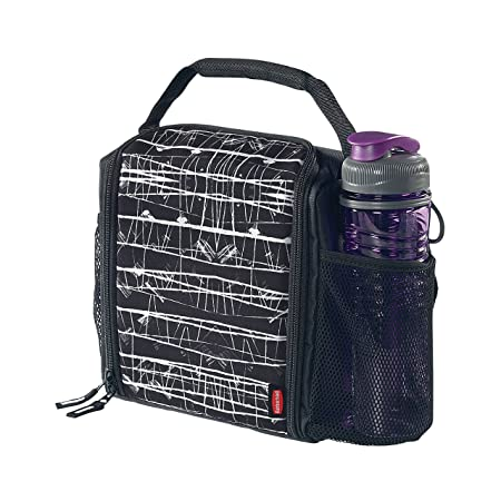 9669afe6fae8ab Known for their durable, high-quality products, this Rubbermaid lunch bag  is no exception and features a convenient carry handle and shoulder strap  for ease ...