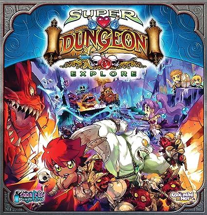 Edge - UBISD01 - Jeu de Société - Super Dungeon