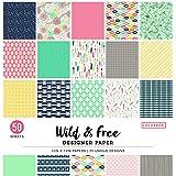 Colorbok Designer Paper Pad 12