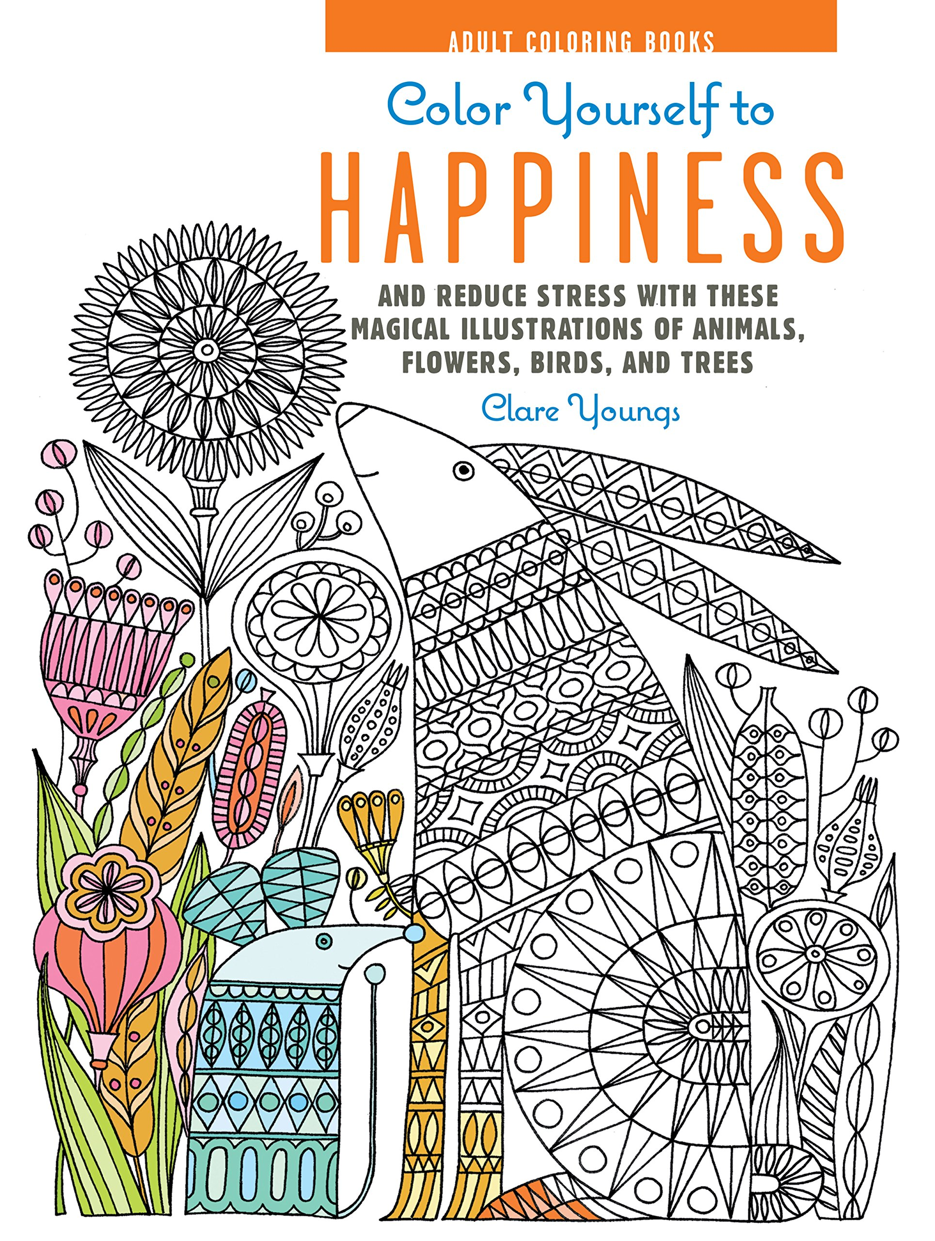 Coloring Book Review Color Yourself To Happiness