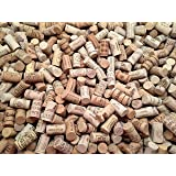 Wine Corks | Brand New, Authentic, All Natural | Printed, Winery-Marked, Craft Grade | Uncirculated, Uniform & Clean | Excellent for Crafting & Decor | Pack of 50/100/150/200 Premium Wine Corks (100) (Color: Natural Cork Beige, Tamaño: 100 New Wine Corks)
