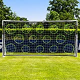 Net World Sports Soccer Goal Targets. Pro Soccer Target Sheets. Great for Soccer Practice. Select Your Size! (6' x 4') (Tamaño: 02. 6' x 4')