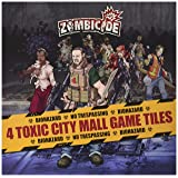 Zombicide: Toxic City Mall 4 Double Sided Game Tiles Board Game