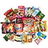 Ultimate Korean Snack Box (25 Count) | Variety Assortment of Korean Snacks, Chips, Cookies, Candies | Gift Care Package
