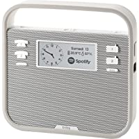 Invoxia Triby Smart Portable Speaker with Built-in Alexa Voice Service (Grey)