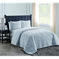 Nina or Shore Embossed Quilt Set (3-Piece)