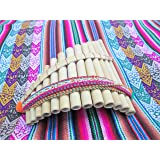 Artesanal Small Pan Flaute 13 Pipes From Peru Item in USA