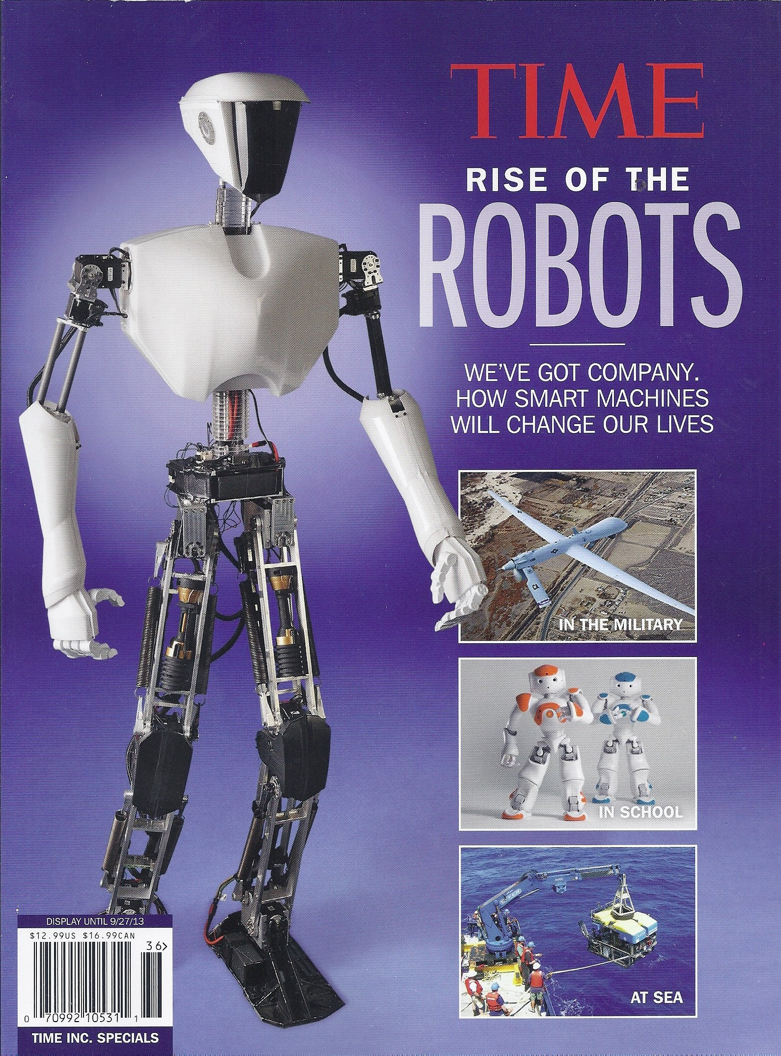 Time Magazine Rise of the Robots