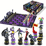 The Batman Chess Set (The Dark Knight vs The Joker) (Color: Standard)
