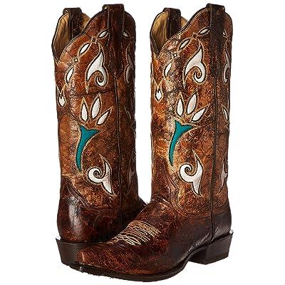 Stetson Women's Vintage Tulip Western Boot