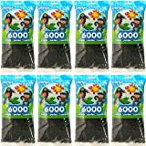 Dark Green Perler Beads for Kids Crafts (Black (8-Pack)) (Color: Black (8-PACK))