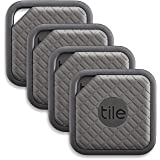 Tile (EC-09004) Sport - Key Finder. Phone Finder. Anything Finder (Graphite) - 4 Pack (Color: Graphite, Tamaño: Combo-Sport)