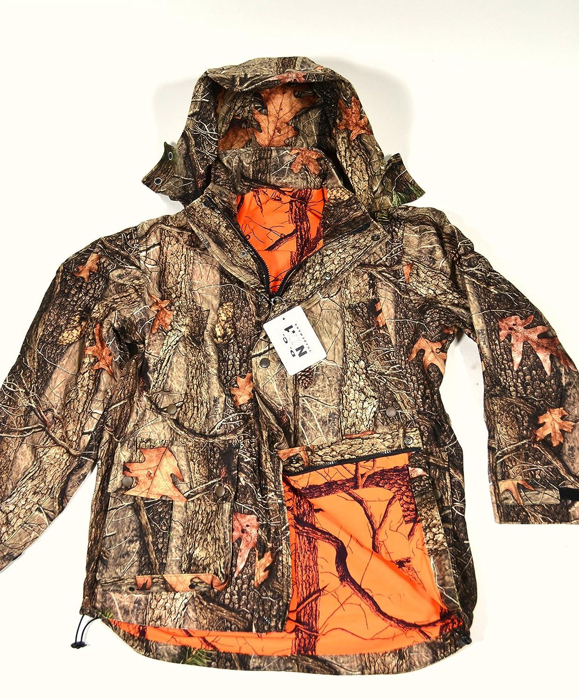 Wendejacke Jagd Camouflage Forest Oak Tree orange D.C. No 1 Drückjagd lautlos NEU online bestellen