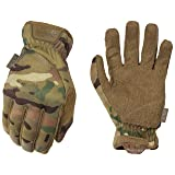 Mechanix Wear - MultiCam FastFit Tactical Touchscreen Gloves (Small, Camouflage) (Color: Camo, Tamaño: Small)