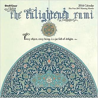 2016 Enlightened Rumi Wall Calendar