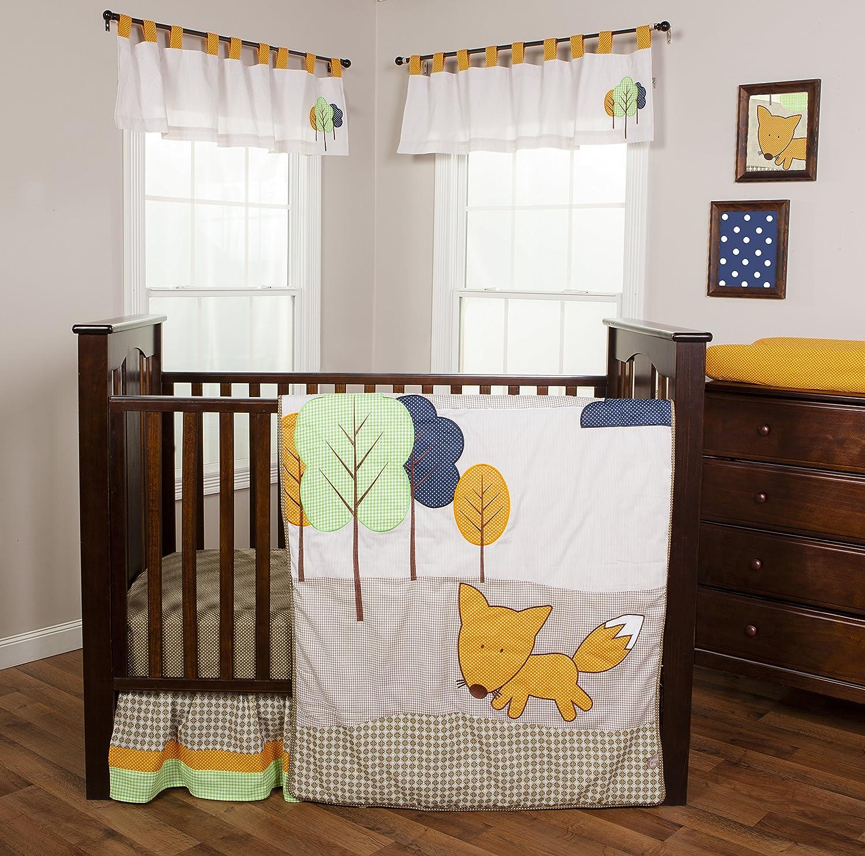 Trend Lab Friendly Fox Crib Bedding