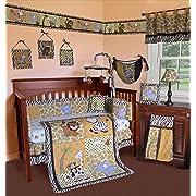 Belle Walk Through The Zoo Crib Bedding Collection