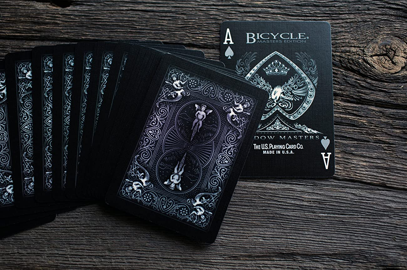 Ellusionist Bicycle Shadow Masters Playing Cards 1