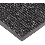 NoTrax 109S0034CH 109 Brush Step Entrance Mat, for Lobbies and Indoor Entranceways, 3' Width x 4' Length x 3/8