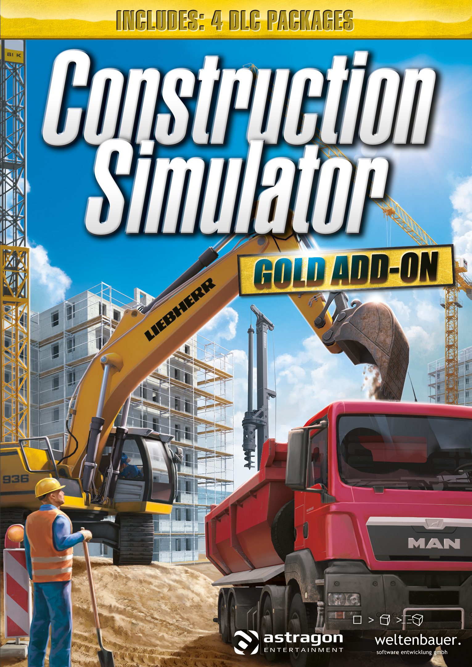 Construction Simulator: GOLD ADD-ON [Online Game Code] (Construction Simulator Steam compare prices)