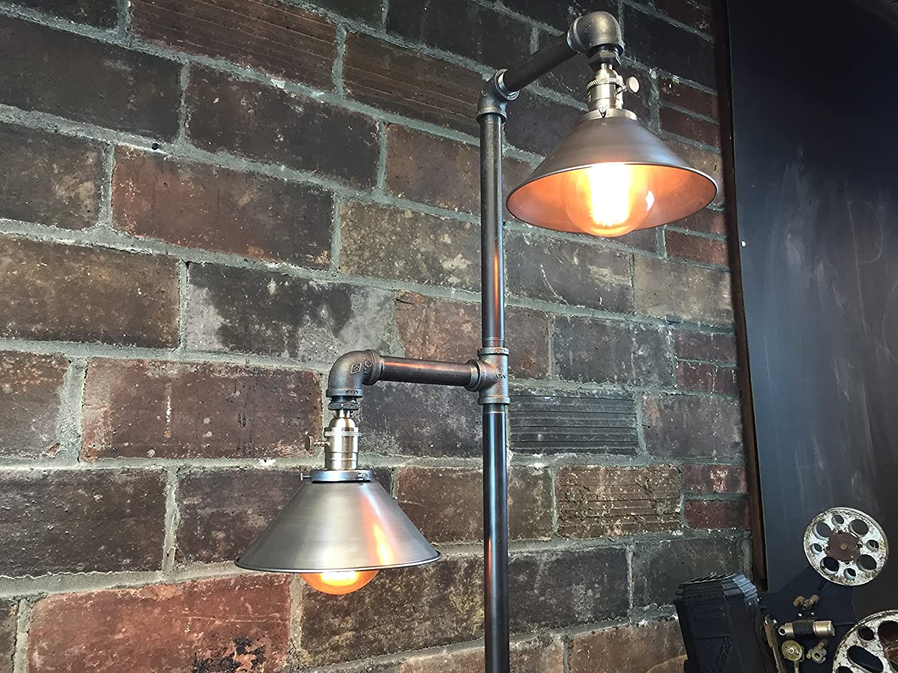 Industrial Floor Lamp - Edison Bulb Pendant 4