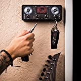 Jack Rack DJ Deck Key Holder | Hang Your Keys Like A Rockstar | By Pluginz Key Chains (Equalizer & 4 Key Rings)