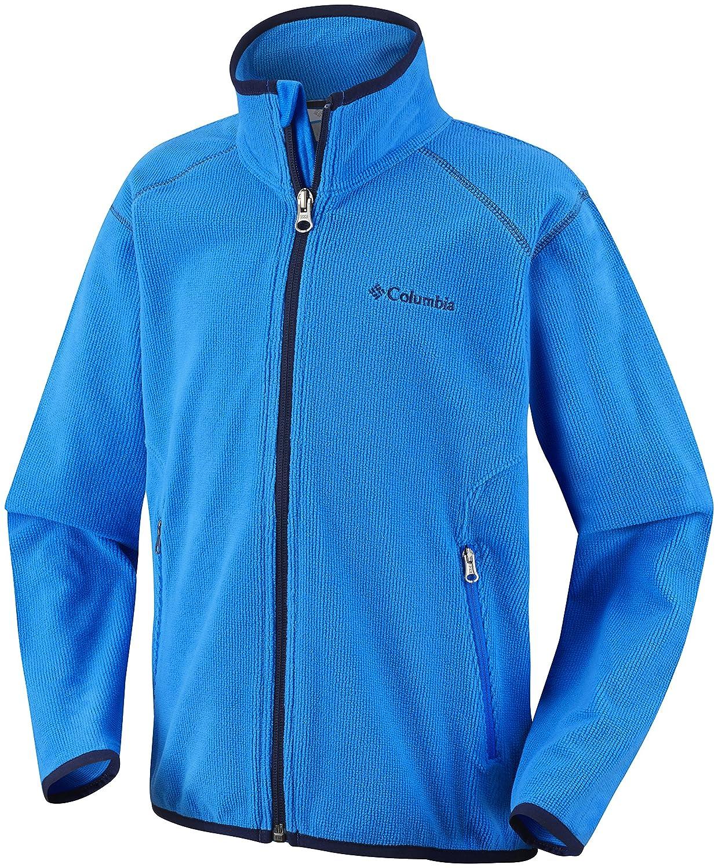 Columbia Summit Rush Fleece Full Zip Youth hyper blue 2014 günstig