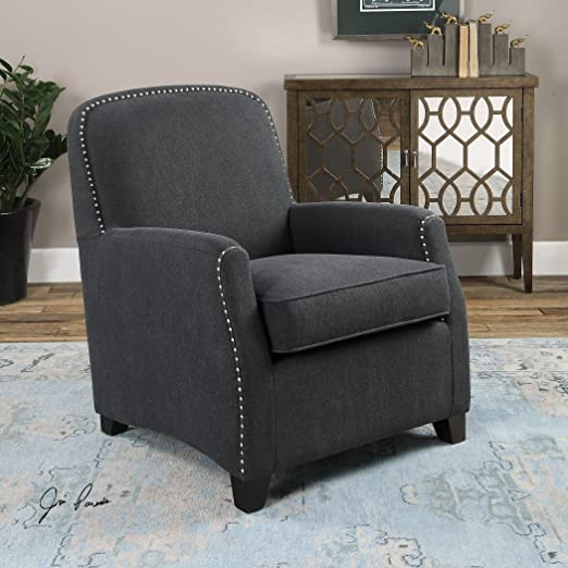 Domicia Gray Armchair