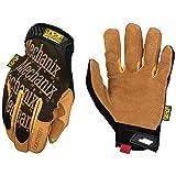 Mechanix Wear - Leather Original Gloves (Large, Brown/Black) (Color: Tan, Tamaño: Large)
