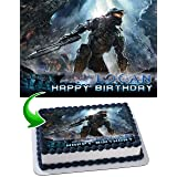 Halo Edible Image Cake Topper Personalized Icing Sugar Paper A4 Sheet Edible Frosting Photo Cake 1/4 ~ Best Quality Edible Image for cake